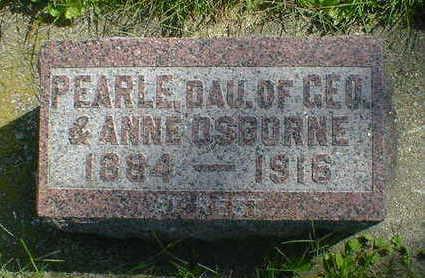 OSBORNE, PEARLE - Cerro Gordo County, Iowa | PEARLE OSBORNE