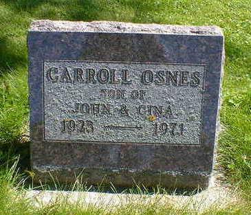 OSNES, CARROLL - Cerro Gordo County, Iowa | CARROLL OSNES