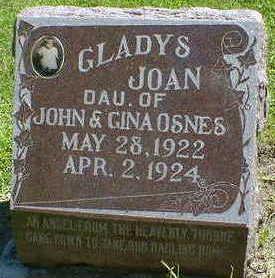OSNES, GLADYS JOAN - Cerro Gordo County, Iowa | GLADYS JOAN OSNES
