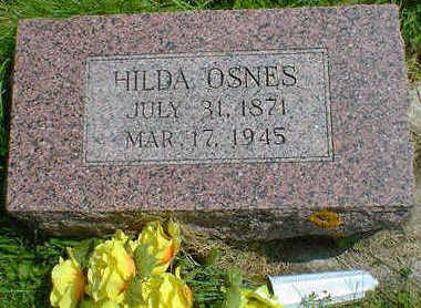 OSNES, HILDA - Cerro Gordo County, Iowa | HILDA OSNES