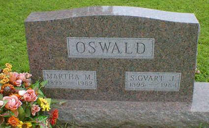 OSWALD, SIGVART J. - Cerro Gordo County, Iowa | SIGVART J. OSWALD