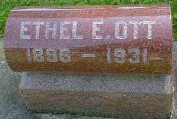 OTT, ETHEL E. - Cerro Gordo County, Iowa | ETHEL E. OTT