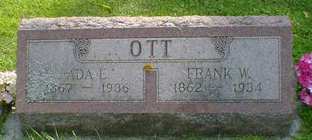 OTT, ADA E. - Cerro Gordo County, Iowa | ADA E. OTT
