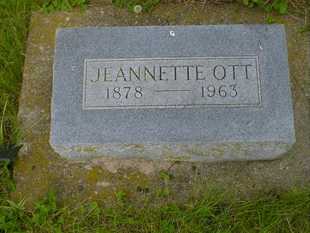 OTT, JEANNETTE - Cerro Gordo County, Iowa | JEANNETTE OTT