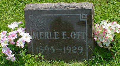 OTT, MERLE E. - Cerro Gordo County, Iowa | MERLE E. OTT