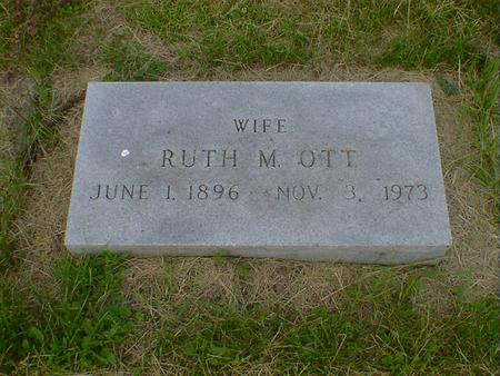 OTT, RUTH M. - Cerro Gordo County, Iowa | RUTH M. OTT