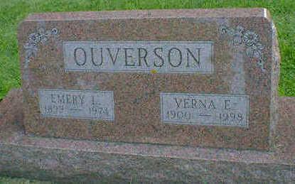 OUVERSON, EMERY L. - Cerro Gordo County, Iowa | EMERY L. OUVERSON