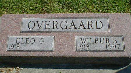 OVERGAARD, WILBUR S. - Cerro Gordo County, Iowa | WILBUR S. OVERGAARD