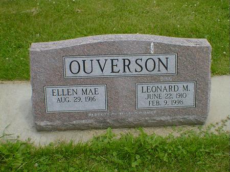OVERSON, LEONARD M.