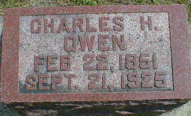 OWEN, CHARLES H. - Cerro Gordo County, Iowa | CHARLES H. OWEN