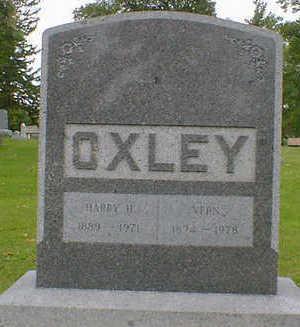 OXLEY, HARRY H. - Cerro Gordo County, Iowa | HARRY H. OXLEY