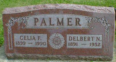 PALMER, CELIA F. - Cerro Gordo County, Iowa   CELIA F. PALMER