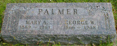 PALMER, MARY A. - Cerro Gordo County, Iowa | MARY A. PALMER