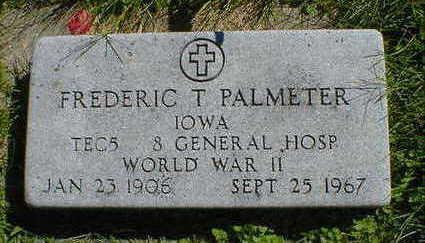 PALMETER, FREDERIC T. - Cerro Gordo County, Iowa | FREDERIC T. PALMETER