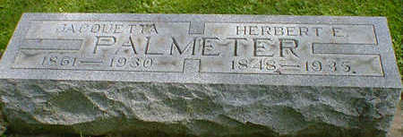 PALMETER, HERBERT E. - Cerro Gordo County, Iowa | HERBERT E. PALMETER