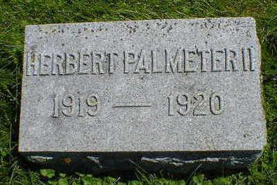 PALMETER, HERBERT, II - Cerro Gordo County, Iowa | HERBERT, II PALMETER