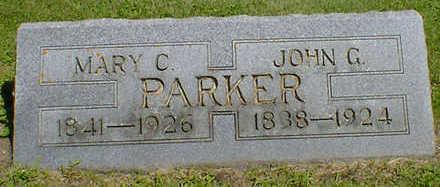 PARKER, JOHN G. - Cerro Gordo County, Iowa | JOHN G. PARKER