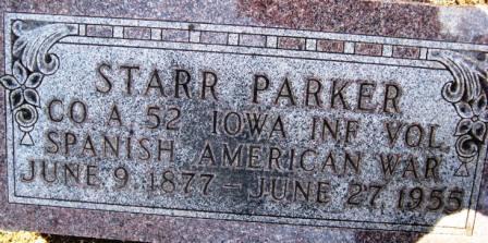 PARKER, STARR - Cerro Gordo County, Iowa | STARR PARKER