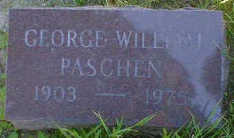 PASCHEN, GEORGE WILLIAM - Cerro Gordo County, Iowa | GEORGE WILLIAM PASCHEN