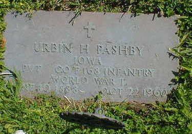 PASHBY, URBIN H. - Cerro Gordo County, Iowa | URBIN H. PASHBY