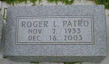 PATRO, ROGER L. - Cerro Gordo County, Iowa   ROGER L. PATRO