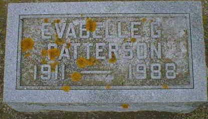 PATTERSON, EVABELLE G. - Cerro Gordo County, Iowa | EVABELLE G. PATTERSON