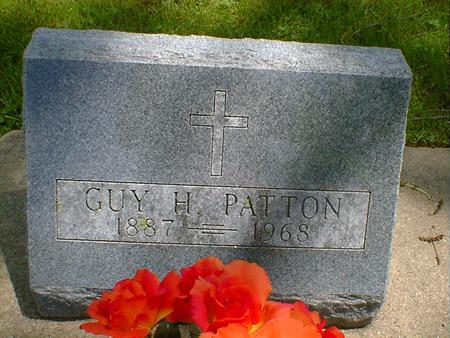 PATTON, GUY H. - Cerro Gordo County, Iowa | GUY H. PATTON