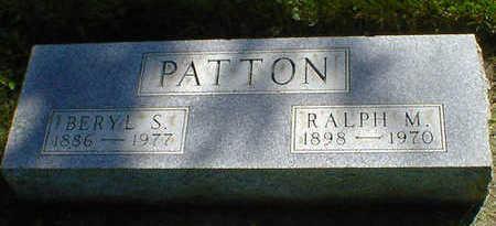 PATTON, BERYL S. - Cerro Gordo County, Iowa | BERYL S. PATTON