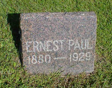 PAUL, ERNEST - Cerro Gordo County, Iowa | ERNEST PAUL
