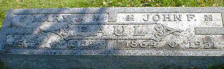 PAUL, JOHN F. - Cerro Gordo County, Iowa | JOHN F. PAUL