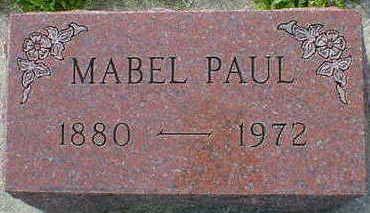PAUL, MABEL - Cerro Gordo County, Iowa | MABEL PAUL
