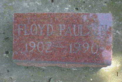 PAULSEN, FLOYD - Cerro Gordo County, Iowa | FLOYD PAULSEN
