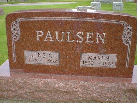 PAULSEN, MAREN - Cerro Gordo County, Iowa   MAREN PAULSEN