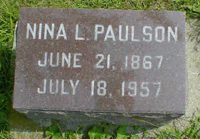 PAULSON, NINA L. - Cerro Gordo County, Iowa | NINA L. PAULSON