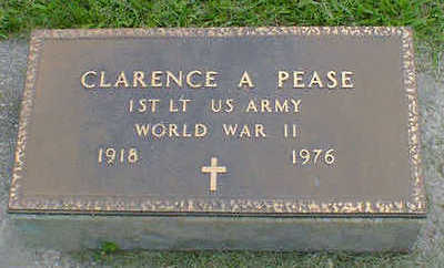 PEASE, CLARENCE A. - Cerro Gordo County, Iowa   CLARENCE A. PEASE