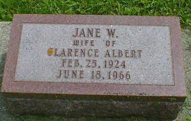 PEASE, JANE W. - Cerro Gordo County, Iowa   JANE W. PEASE