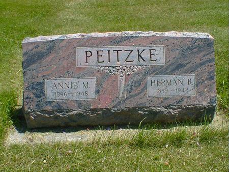 PEITZKE, ANNIE M. - Cerro Gordo County, Iowa | ANNIE M. PEITZKE