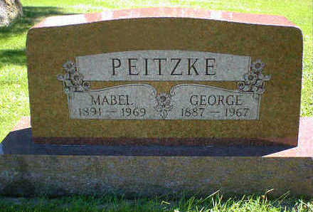 PEITZKE, MABEL - Cerro Gordo County, Iowa | MABEL PEITZKE
