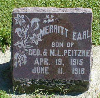 PEITZKE, MERRITT EARL - Cerro Gordo County, Iowa | MERRITT EARL PEITZKE