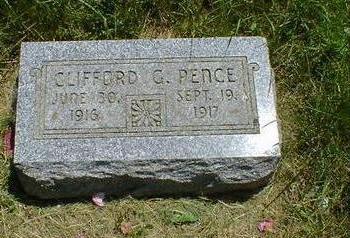 PENCE, CLIFFORD G. - Cerro Gordo County, Iowa | CLIFFORD G. PENCE