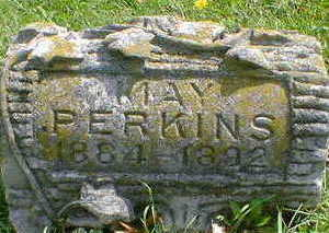 PERKINS, MAY - Cerro Gordo County, Iowa   MAY PERKINS