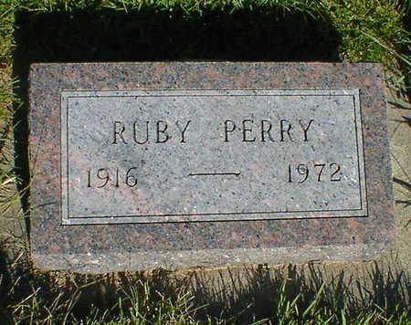 PERRY, RUBY - Cerro Gordo County, Iowa   RUBY PERRY