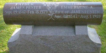 PESTER, JAMES - Cerro Gordo County, Iowa | JAMES PESTER