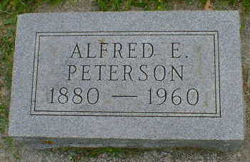 PETERSEN, ALFRED E. - Cerro Gordo County, Iowa | ALFRED E. PETERSEN