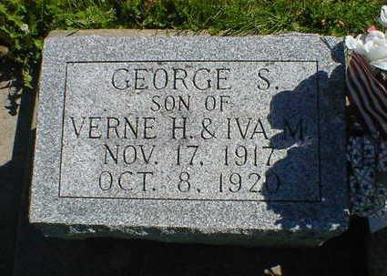 PETERSEN, GEORGE S. - Cerro Gordo County, Iowa | GEORGE S. PETERSEN