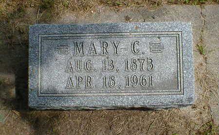 PETERSEN, MARY C. - Cerro Gordo County, Iowa | MARY C. PETERSEN
