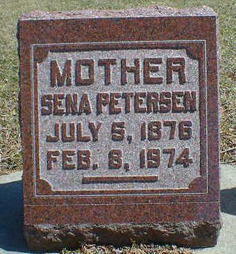 PETERSEN, SENA - Cerro Gordo County, Iowa   SENA PETERSEN