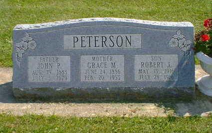 PETERSON, ROBERT J. - Cerro Gordo County, Iowa | ROBERT J. PETERSON