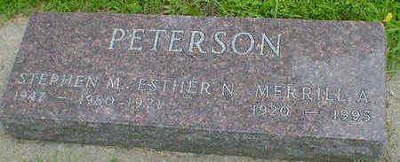 PETERSON, STEPHEN M. - Cerro Gordo County, Iowa | STEPHEN M. PETERSON
