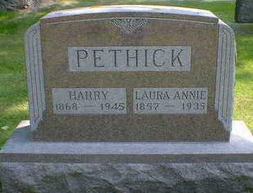 PETHICK, LAURA ANNIE - Cerro Gordo County, Iowa | LAURA ANNIE PETHICK